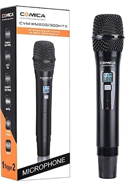 Comica CVM-WM200HTX WM300HTX El Mikrofonu