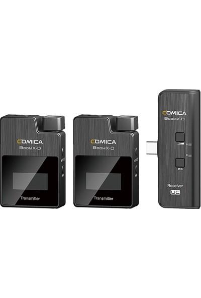 Comica Boomx-D Uc2 Android Akıllı Telefonlar Için Dijital Kablosuz Mikrofon