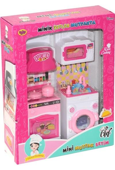 Oydaş Oyuncak 02358 Minik Şefler Mutfakta-Fırın ve Çamaşır Makinesi 2 Li