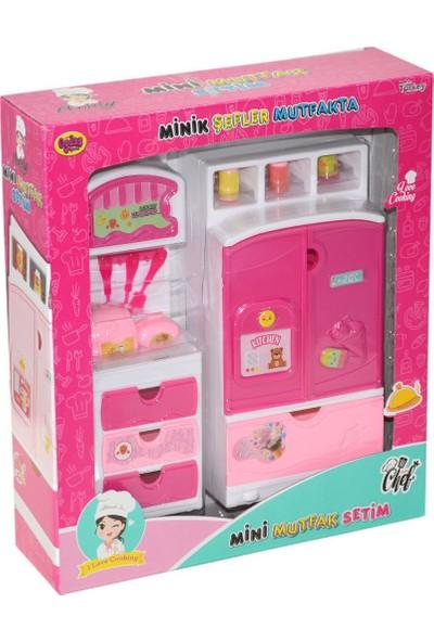 Oydaş Oyuncak 02359 Minik Şefler Mutfakta-Buzdolabı ve Çekmeceli Dolap 2 Li