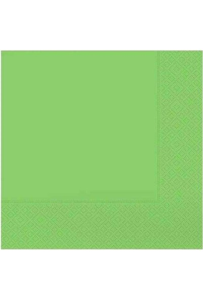 Kullanatparty Düz Renkli Kağıt Peçete 20 Adet 33 X33 cm Lacivert