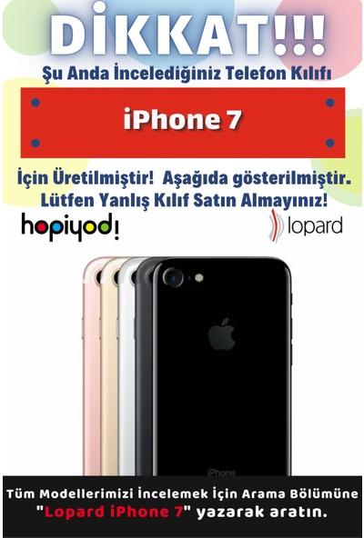 Lopard Apple iPhone 7 Uyumlu Kılıf Kediler (31) Tpu Kılıf Minikler