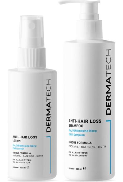 Dermatech Saç Dökülmesine Karşı Etkili Set