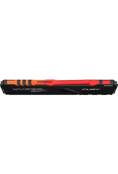 Kingston HyperX Fury RGB (32x2) 64GB 3600MHz DDR4 CL18 Dimm Ram HX436C18FB3AK2/64