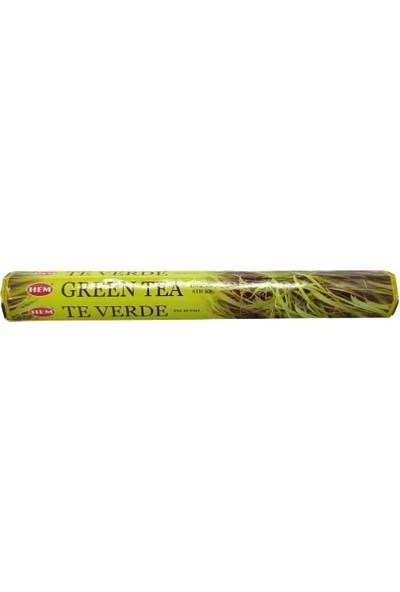 Euro Concepts Yeşil Çay Kokulu 20 Çubuk Tütsü