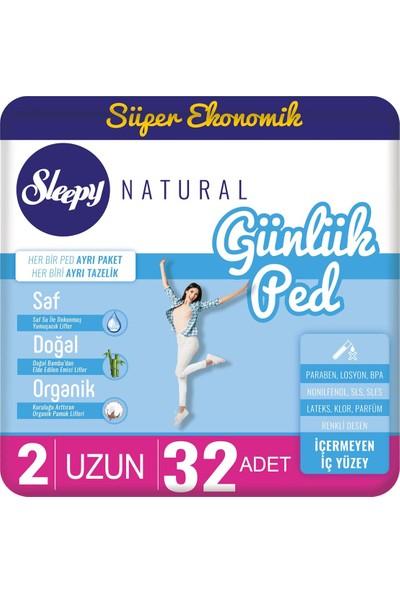 Sleepy Natural Günlük Ped Uzun 32 Adet