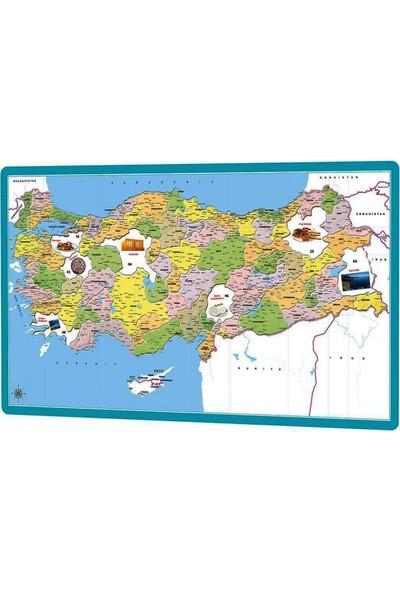 Şifa-İnur Türkiye Siyasi Haritası 81 Il Öğretici Yap Boz Puzzle