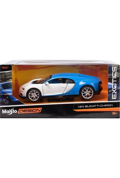 Maisto 1/24 Bugatti Chiron Model Araba