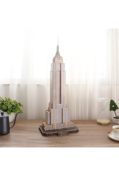 Cubic Fun National Geographic Serisi Empire State Binası 3D Puzzl