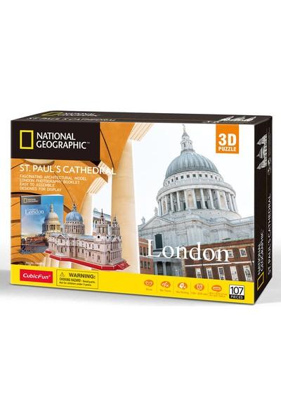 Cubic Fun National Geographic Serisi Aziz Paul Katedrali 3D Puzzl