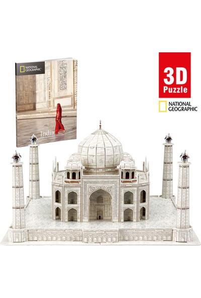 Cubic Fun National Geographic Serisi Taj Mahal 3D Puzzle