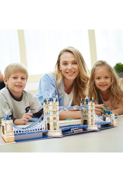 Cubic Fun National Geographic Serisi Tower Bridge 3D Puzzle