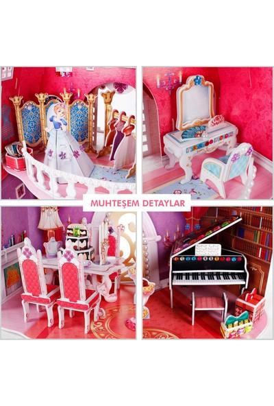 Cubic Fun Prenses Doğumgünü Şatosu 3D Puzzle