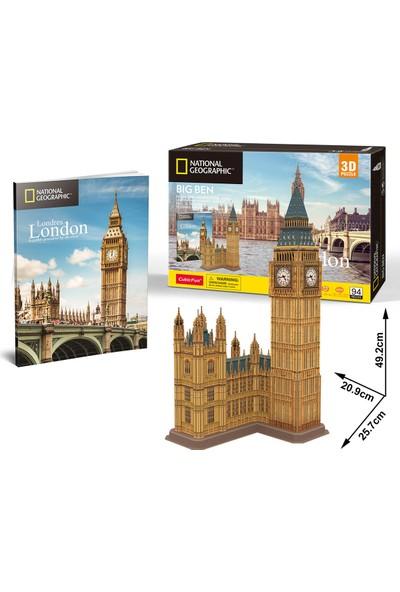 Cubic Fun National Geographic Serisi Big Ben 3D Puzzle