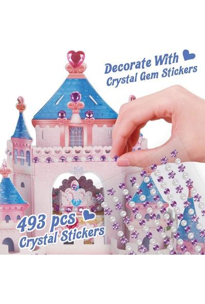 Cubic Fun Prenses Gizli Bahçe Şatosu 3D Puzzle