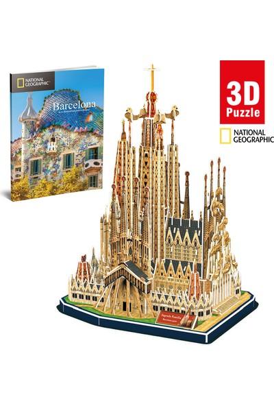 Cubic Fun National Geographic Serisi Sagrada Famillia 3D Puzzle