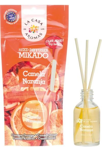 La Casa de los Aromas Mikado Tarçın - Portakal Çubuklu Oda Kokusu 30 ml