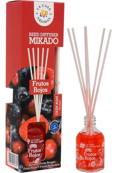 La Casa de los Aromas Mikado Kırmızı Meyveler Çubuklu Oda Kokusu 50 ml