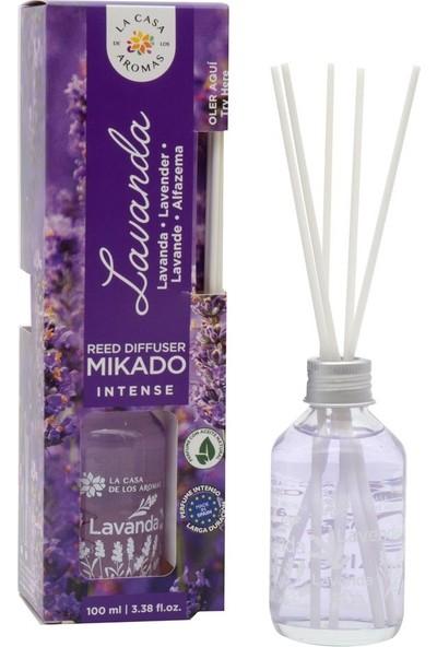 La Casa de los Aromas Mikado Intense Lavanta Çubuklu Oda Kokusu 100 ml