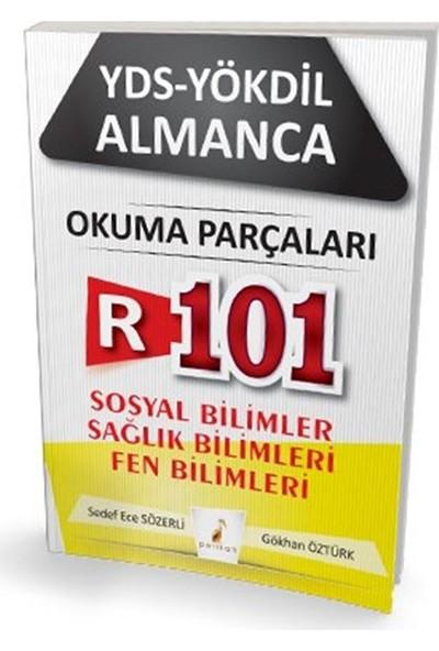 Pelikan Yayınları YDS Yökdil Almanca R101 Okuma Parçaları