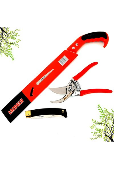 Snr Bağ Bahçe Budama Makası & Çakı Bıçak (Testere Hediyeli)