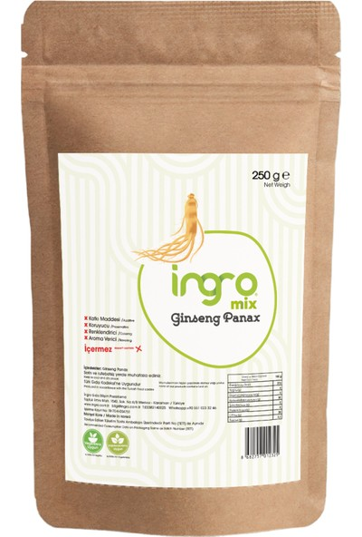 Ingro Ginseng Panax 250 G