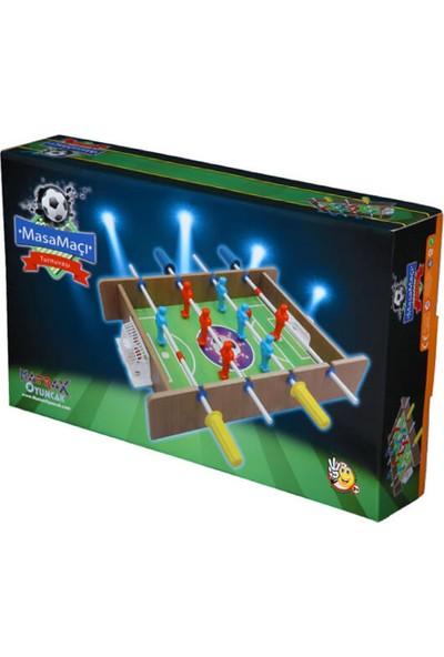 Matrax Oyuncak Ahşap Mini Masa Maçı Oyunu