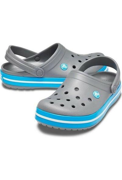 Crocs Crocband 11016-07W Charcoal Ocean Terlik 41-46