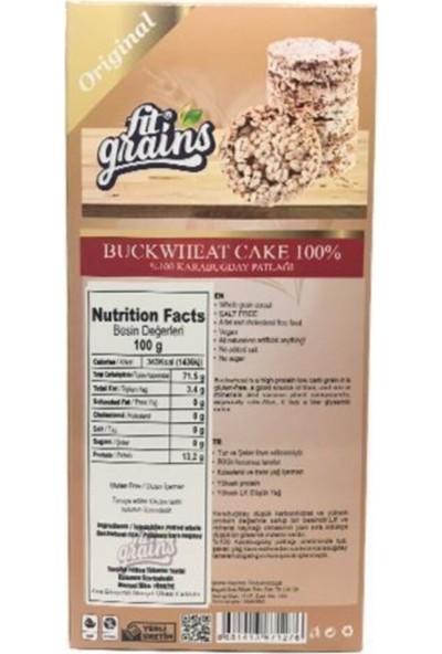 Fit Grains Karabuğday Patlağı 130 gr
