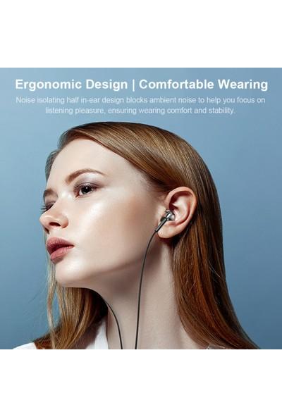 Lenovo XF06 3.5 mm Kablolu Kulak Içi Kulaklık - Beyaz (Yurt Dışından)