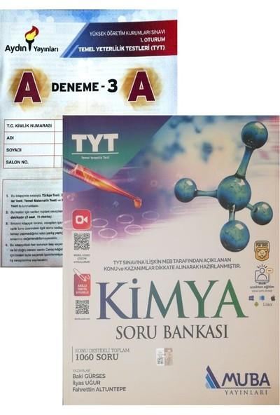 Muba Yayınları TYT Kimya Soru Bankası Güncel (Aydın Yayınları Denemeli)
