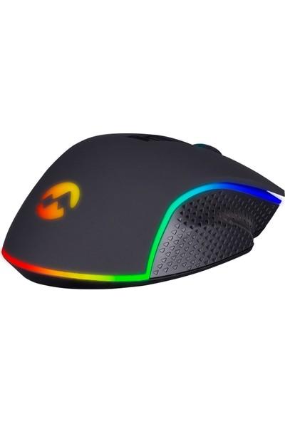 Everest Rampage RAGE-X2 Siyah 6400 DPI RGB Gaming Oyuncu Mouse