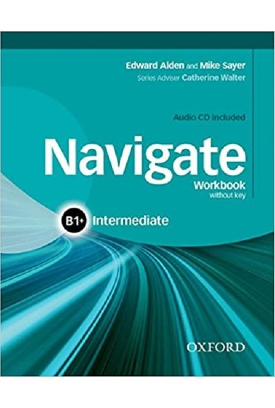 Oxford University Press Navigate - B1+(Plus) - Intermediate - Coursebook + Workbook + Online Skills
