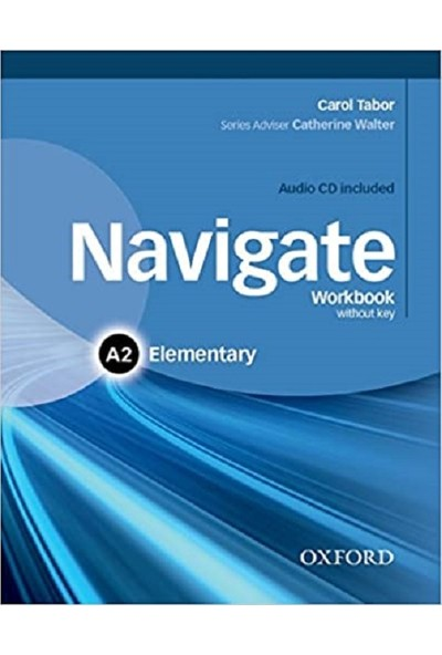 Oxford University Press Navigate - A2 - Elementary - Coursebook + Workbook + Online Skills