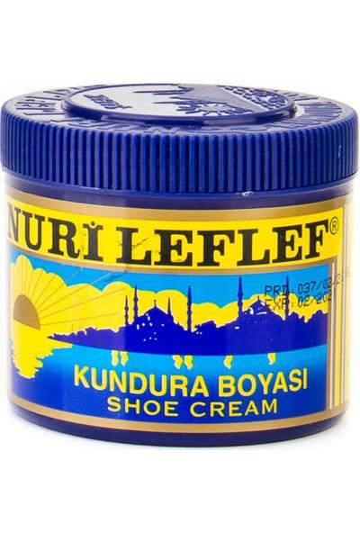 Nuri Leflef Kundura Ayakkabı Boyası Koyu Kahve Renk 200 Ml.
