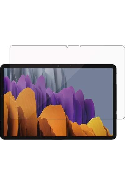 Smcase Samsung Galaxy Tab S7 Plus T 970 12.4 Inç Nano Glass Ekran Koruyucu Şeffaf