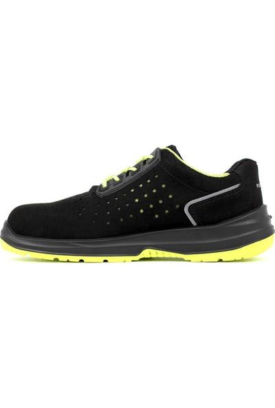 Rockwell Kompozit Burun Çok Amaçlı Iş Ayakkabısı Siyah Neon S1P