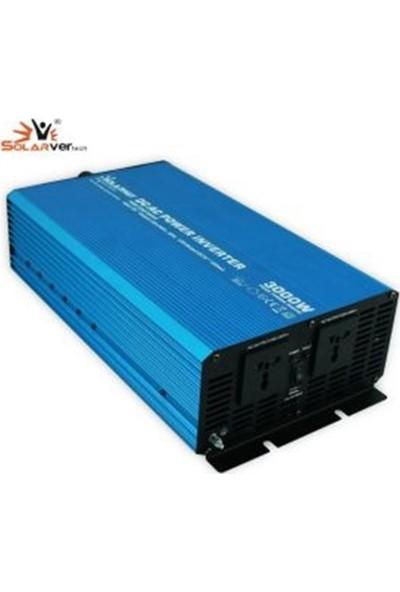 Solarvertech 12V 3000W Tam Sinüs Inverter