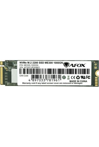 Afox ME300-1000GN SSD 1000GB M.2 2280 Nvme Pcı-E 2515-1816MB/S 3D Tlc