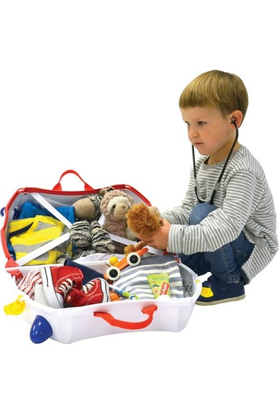 Trunki Çocuk Bavulu - Ambulans -Abbie (Antibakteriyel)