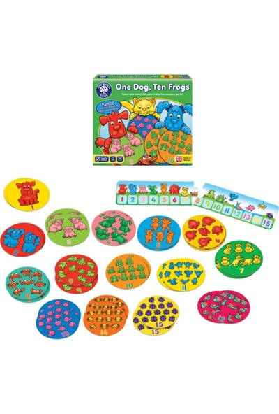 Orchard One Dog Ten Frogs 3-7 Yaş