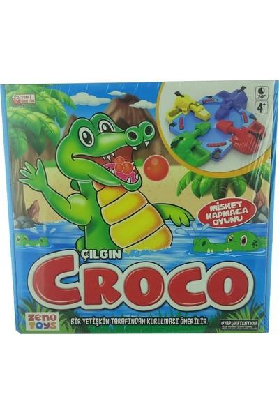 Zeno Toys Çılgın Croco Misket Kapmaca Oyunu