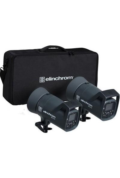 Elinchrom Elc 500 / 500 Ttl Dual Studio Monolight Kit