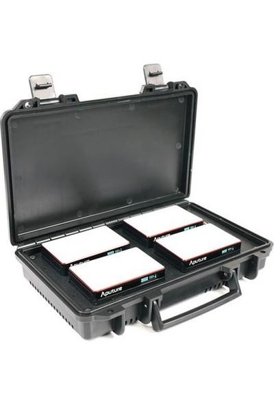 Aputure Mc 4-Light Travel Kit + Şarj Istasyonu