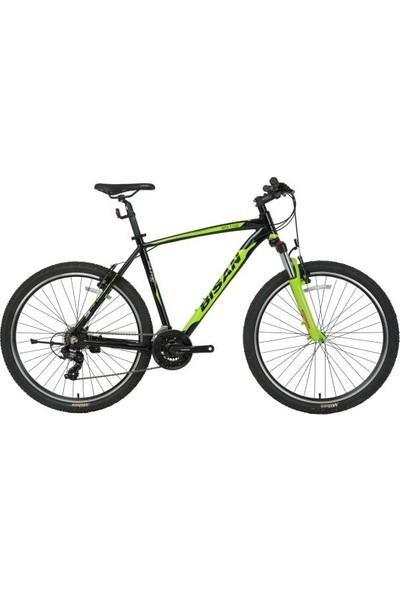 Bisan Mtx 7100 Erkek Dağ Bisikleti 48CM V 27.5 Jant 21 Vites Siyah Yeşil