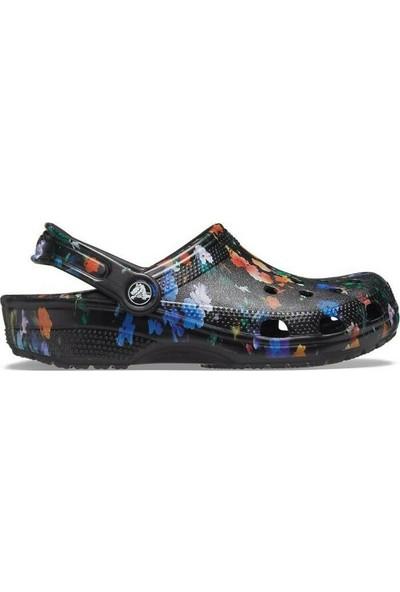 Crocs 206376-OC4 Black/multi Terlik 36-40