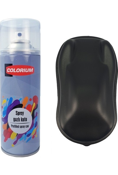 Colorium Plasti Dip 400 ml Sökülebilir Kauçuk Siyah Sprey Boya Plastidip