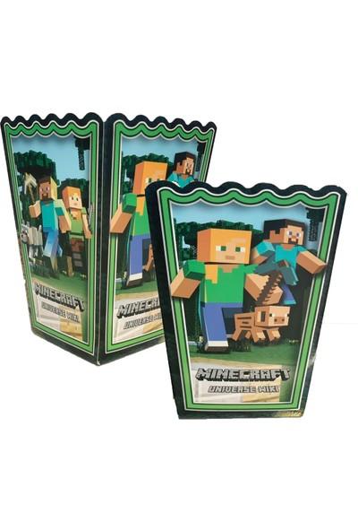 Partifabrik Minecraft Patlamış Mısır Kutusu 10 Lu