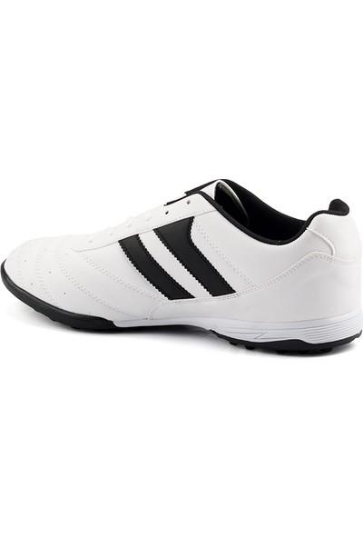 Ayka Trend 177 Beyaz Büyük Numara Halısaha Erkek Futbol Ayakkabı