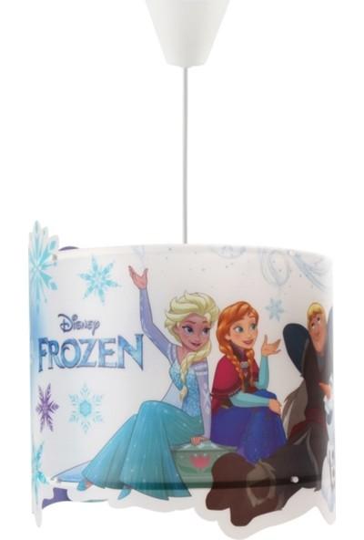 Eslight Frozen Esla ve Anna Film Şerit Tavan Sarkıt Avize Es-Şrtfr